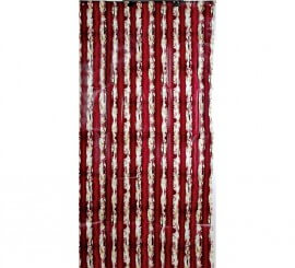 Cortina con sangre 153 x 80 cm