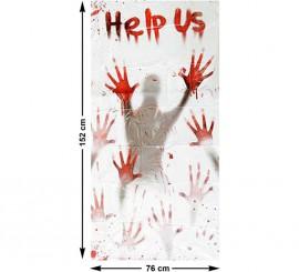 Cortina Sangrienta (Help Us) 152 cm