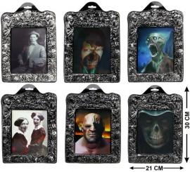 Tableau Décoration Halloween disponible en 6 modèles 30x21 cm