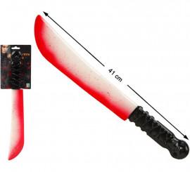 Cuchillo ancho con Sangre 41 cm