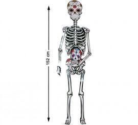 Decoración de Pared Esqueleto 152 cm