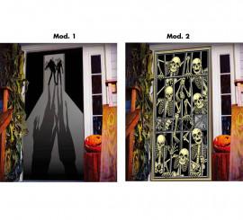 Decoración para puerta de 152x76 cm en 2 modelos