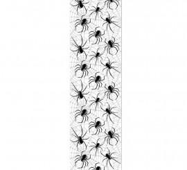 Decoración para puerta de arañas de 228x76 cm