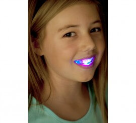 Dentadura con 4 LED de colores