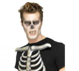 Dentadura de Esqueleto con bolitas de ajuste