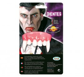 Dentier de Vampire ou Dracula pour Halloween