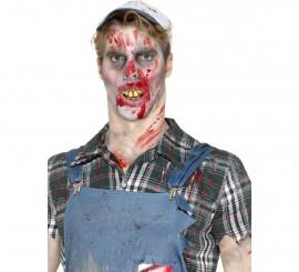 Dentadura de Zombie con bolitas de ajuste