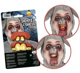 Pack de 2 Dentaduras de Conejo