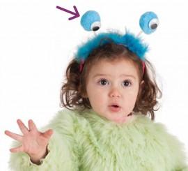 Diadema con Antenas y Ojos para niños