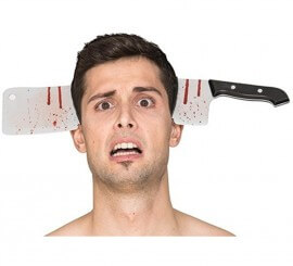 Diadema con Cuchillo de Cocinero