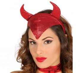 Diadema de Diablesa con cuernos