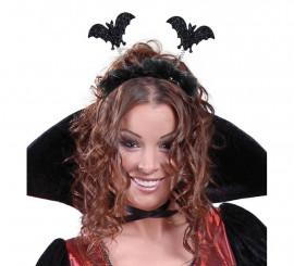 Diadema de Murciélagos con Marabú negro