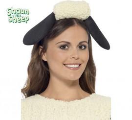 Diadema de Shaun the Sheep Negra y blanca