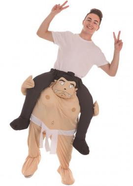 Disfraz a hombros de Luchador de Sumo para adultos