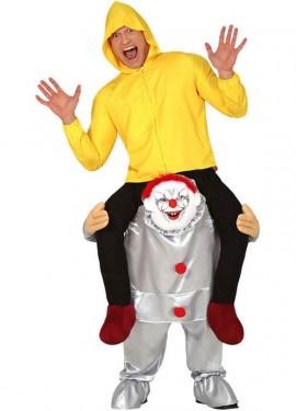 Déguisement au Muscle de Clown Térrifiant pour homme
