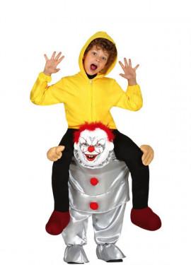 Déguisement au muscle de Clown Térrifiant pour enfants