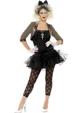 Disfraz Adolescente Rebelde de los 80 para Mujer