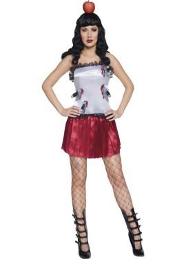 Disfraz Ayudante de Lanzador de Cuchillos para mujer