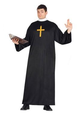 Déguisement de Prêtre pour homme.