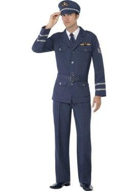 Disfraz Capitán de las Fuerzas Aéreas para Hombre
