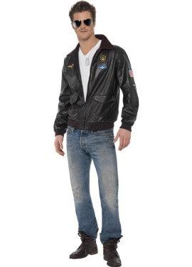 Disfraz - Chaqueta de la película Top Gun hombre