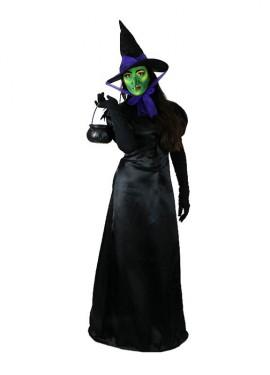 Disfraz completo EAZZY de Bruja negra malvada para mujer