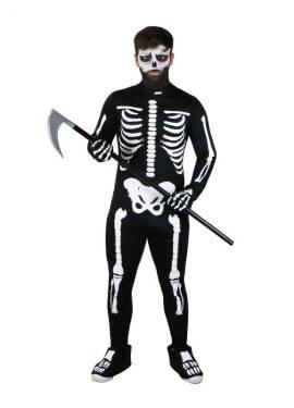 Disfraz completo EAZZY de Esqueleto para hombre