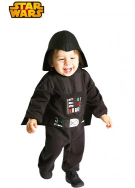 Darth vader costume di star wars per bambini