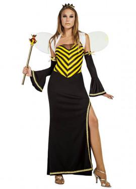 Disfraz de Abeja Reina Largo para mujer