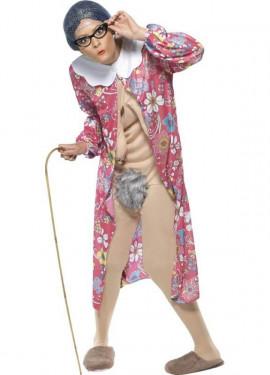 Disfraz de Abuela Salida para adultos