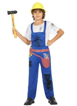 Disfraz de Albañil para niño