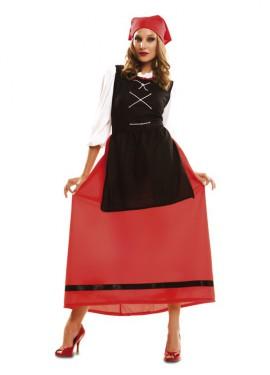 Disfraz de Aldeana para mujer