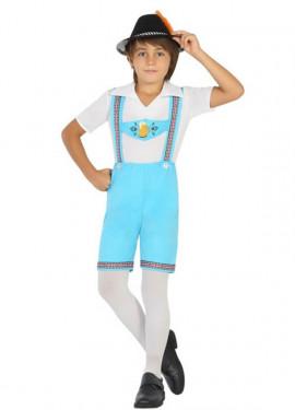 Disfraz de Alemán para niño