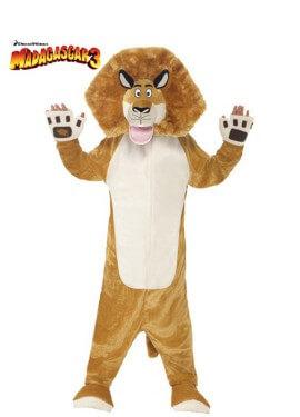 Disfraz de Alex el León de Madagascar para niños