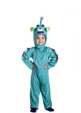 Déguisement de Monstre Bleu pour enfants