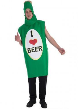 Disfraz de Amo la Cerveza para adultos