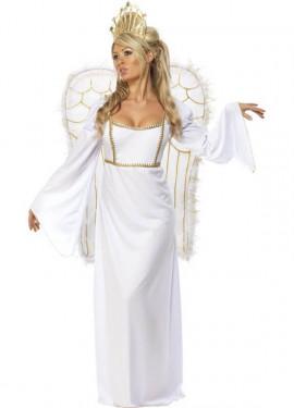 Disfraz de Ángel Blanco para mujer