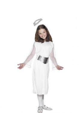 Costume angelo bianco per bambina
