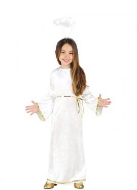 Disfraz de Ángel Blanco para niños