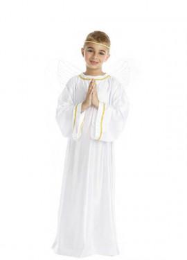 Disfraz de Ángel Blanco y Dorado para niños y bebé