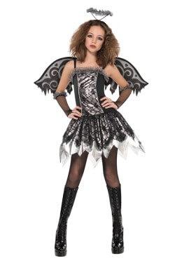 Disfraz de Ángel caído para adolescentes para Halloween