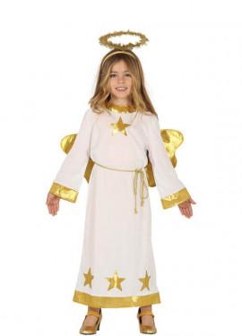 Disfraz de Ángel con Estrellas para niños