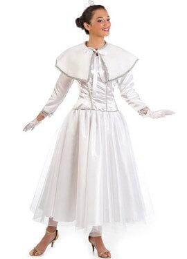 Disfraz de Ángel de Oriente para mujer
