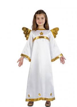 Disfraz de Ángel Estrellas para niños
