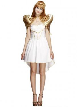 Disfraz de Ángel Glamurosa para mujer
