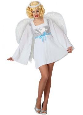 Disfraz de Ángel Sexy para mujer talla M-L
