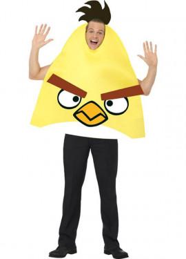 Disfraz de Angry Birds Pájaro Amarillo para adultos