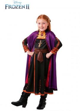 Disfraz de Anna Clásico  de Frozen 2 para niña
