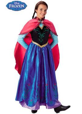 Disfraz de Anna de Frozen para Mujer