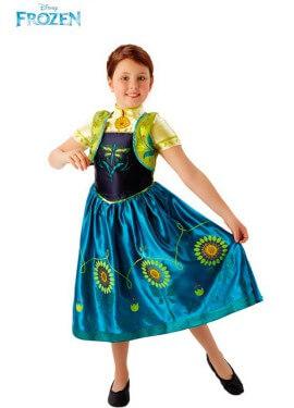 Disfraz de Anna Fever Deluxe de Frozen para niña